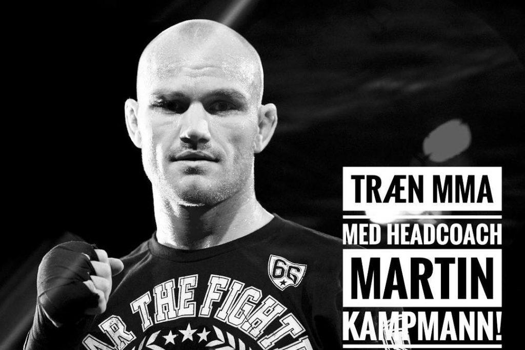 MMA Odense Head Coach Martin Kampmann
